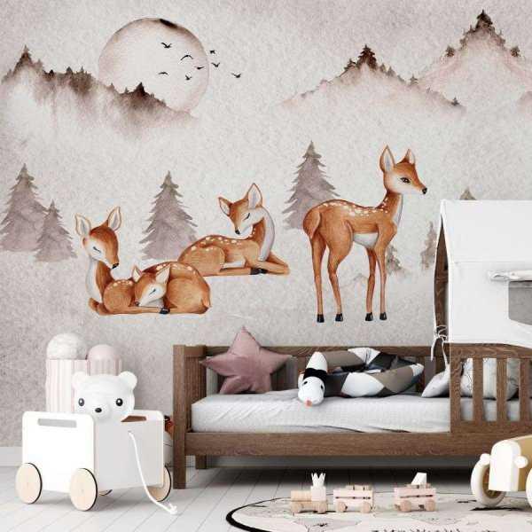 tapeta deers friendship