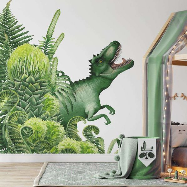 tapeta t-rex jungle