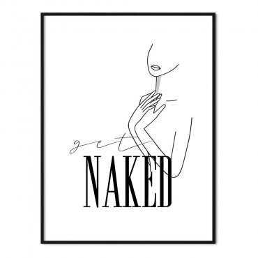plakat get naked
