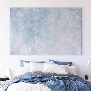 modny obraz blue wall