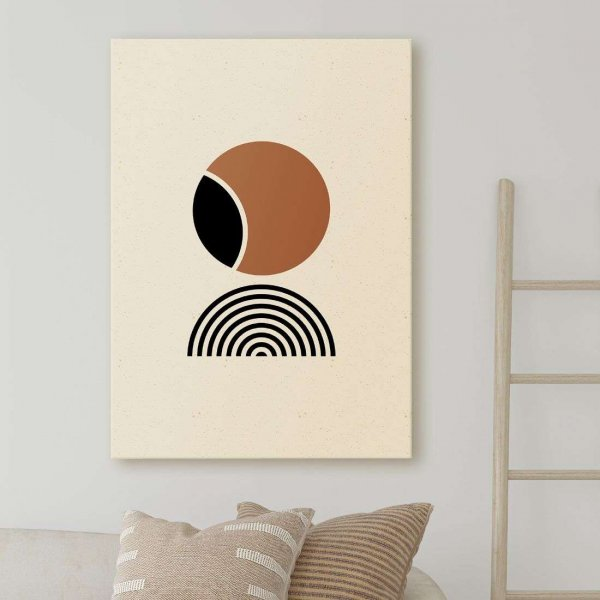 obraz brownie minimalism