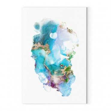modny obraz bubble marble