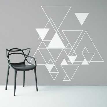 SILVER TRIANGLE - Monda tapeta na ścianę