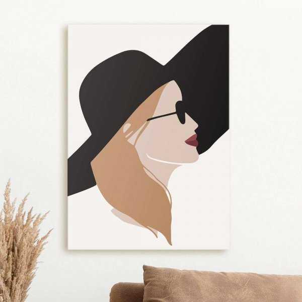 obraz fashionable woman