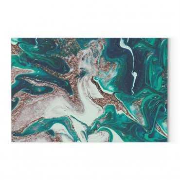 green marble obraz