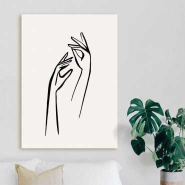 obraz hands of art