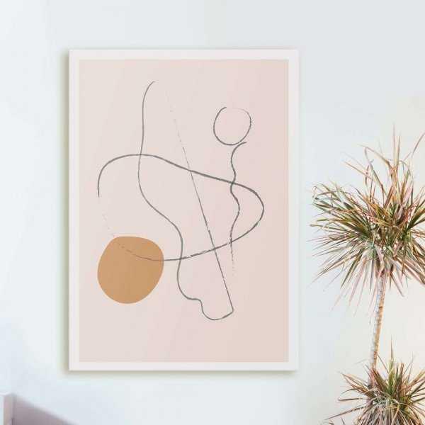 line art form obraz
