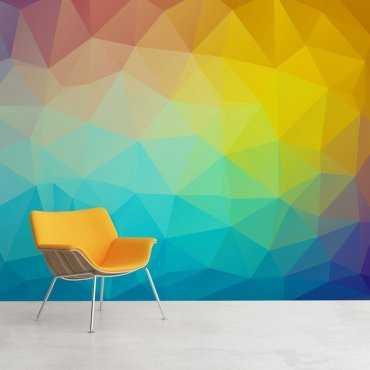 Kolory 3D - Tapeta designerska