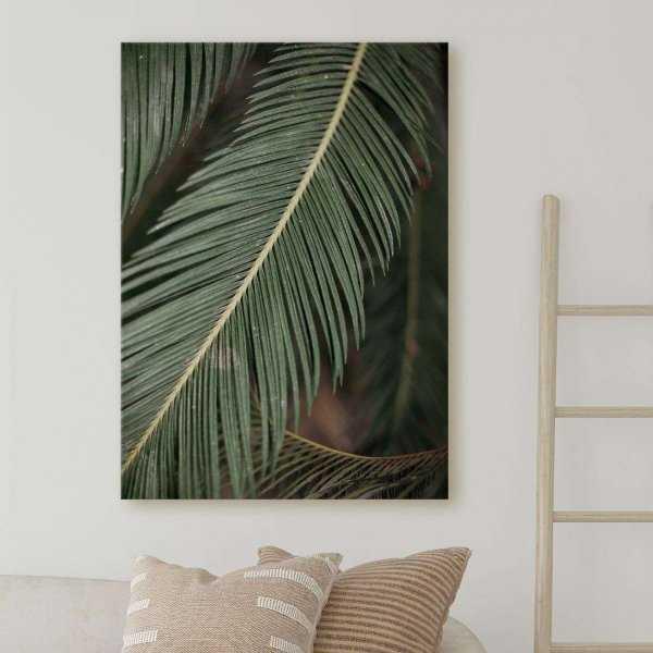 obraz palm of earth
