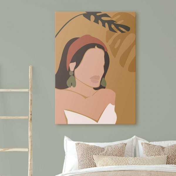obraz woman of tropics