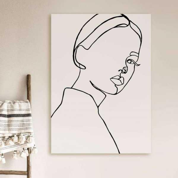obraz woman shape