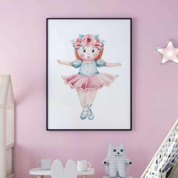 plakat baby princess