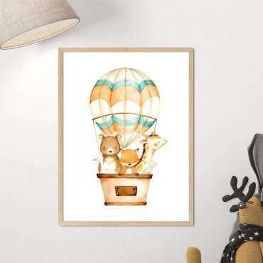 plakat balloon trip