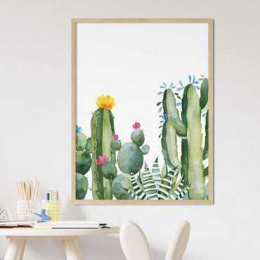 plakat cactus area