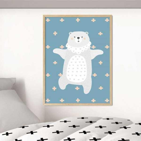 plakat crossy bear