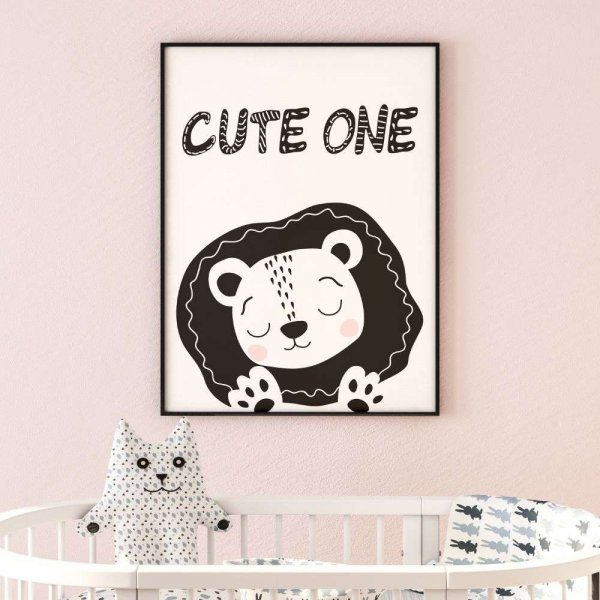 plakat cute one