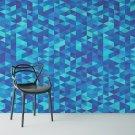 BLUE TRIANGLE - Tapeta ścienna