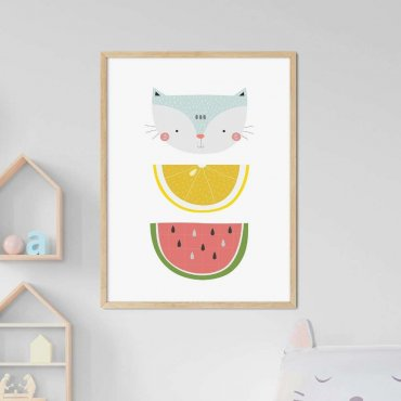 plakat juicy cat