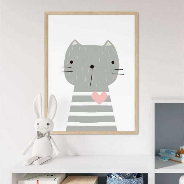 plakat lovely kitten