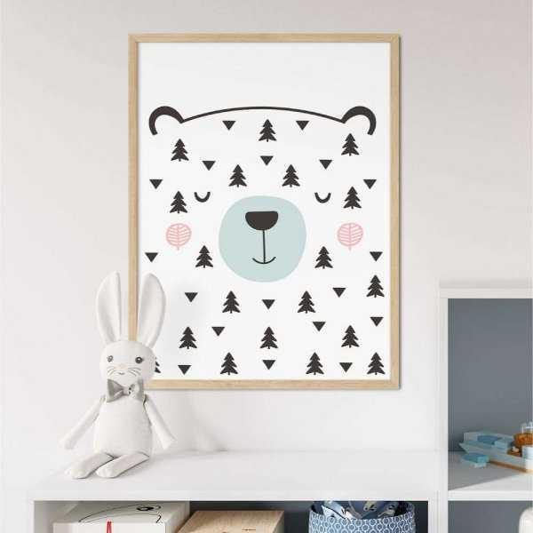 plakat nordic bear