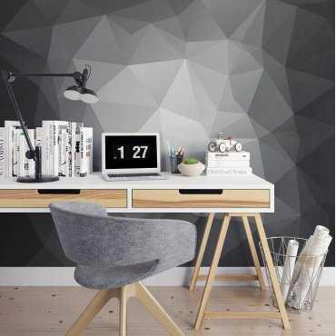 Black & White 3D - Fototapeta designerska