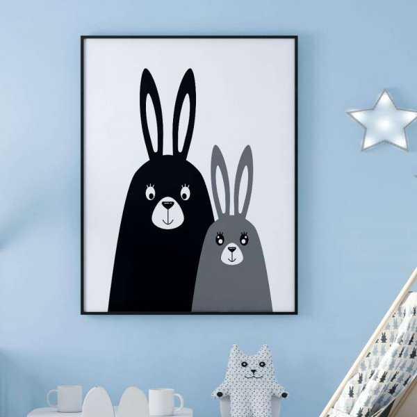 plakat rabbit party