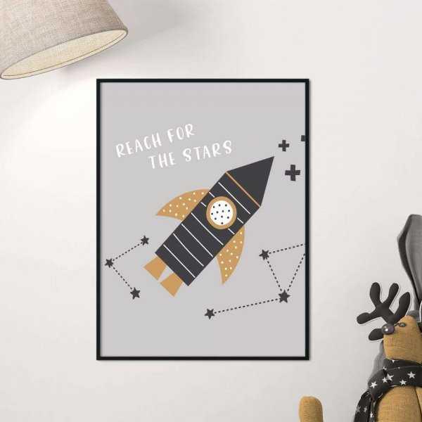 plakat reach for the stars
