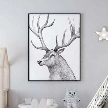 plakat royal deer