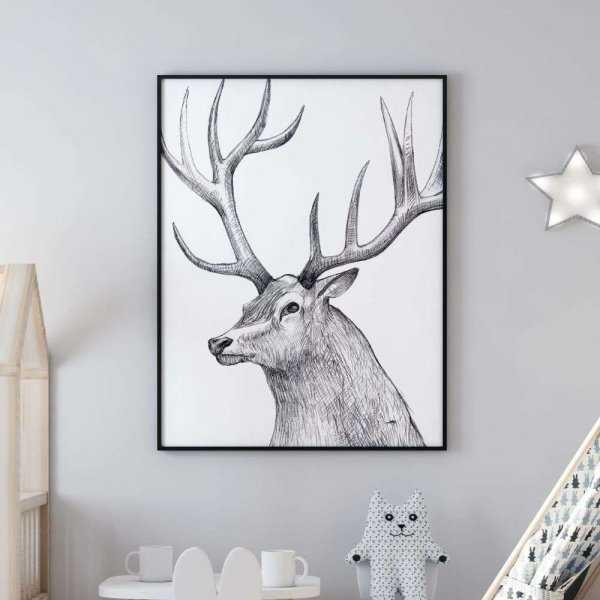 plakat royal deer