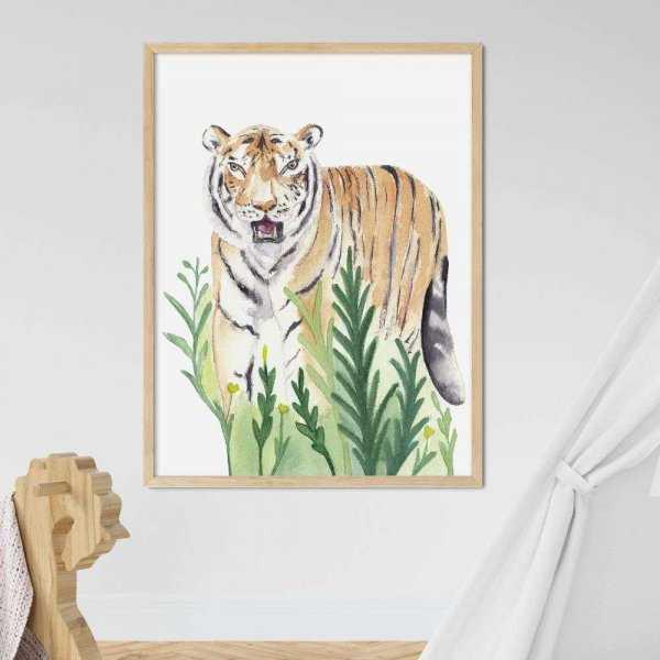 plakat wild tiger