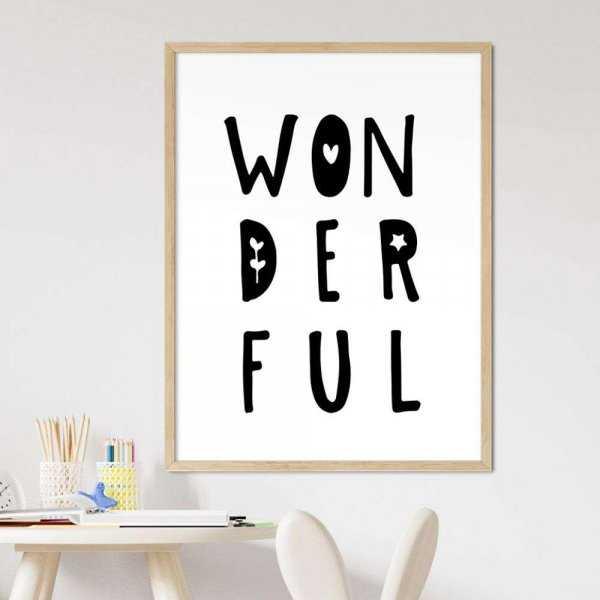 plakat wonderful