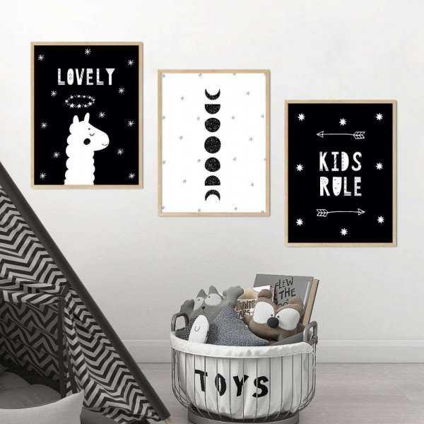 zestaw plakatów lovely kids