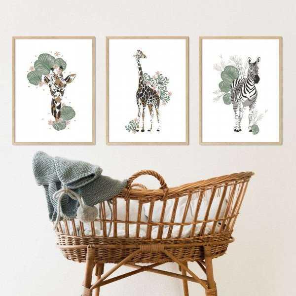 plakaty safari trio