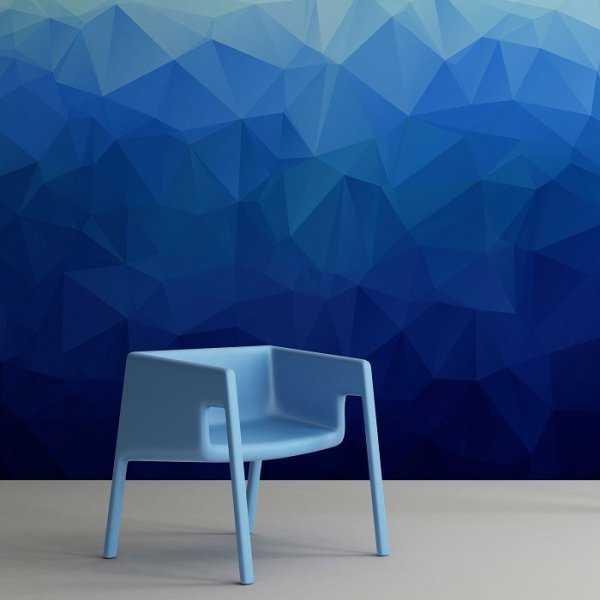 BLUE - Fototapeta designerska