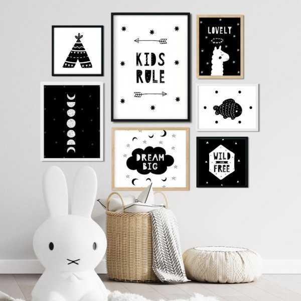 galeria plakatów kids rule