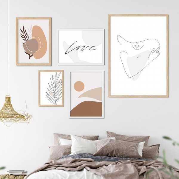 galeria plakatów beige girl