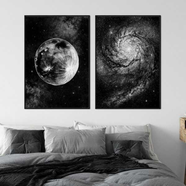 zestaw plakatów moonsleep