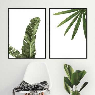 zestaw plakatów tropicalmania