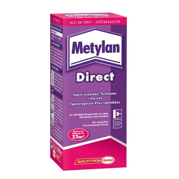 KLEJ DO TAPET - Metylan Direct firmy Henkel