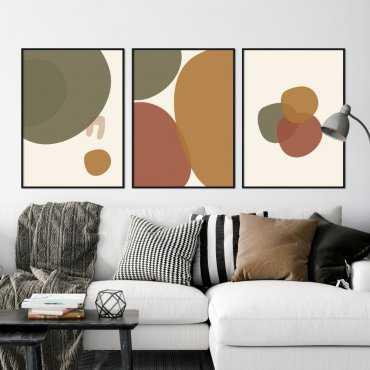 zestaw plakatów circle stains