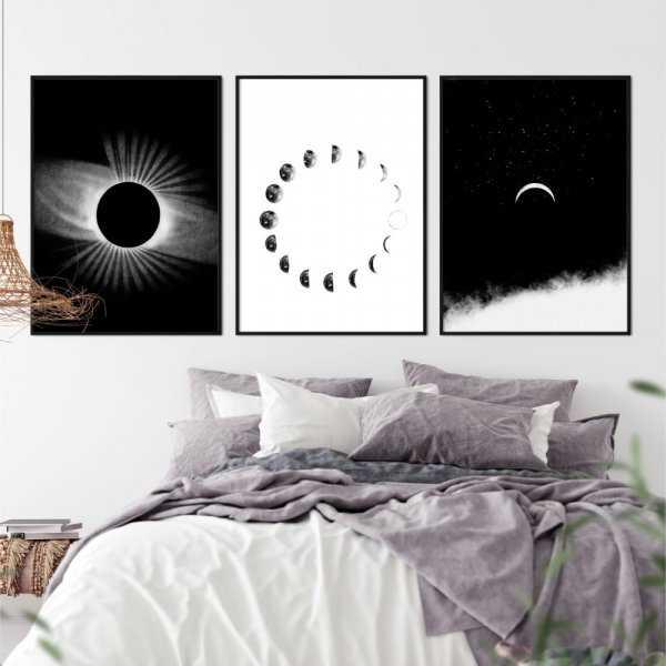 zestaw plakatów mooning
