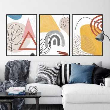zestaw plakatów multidesign
