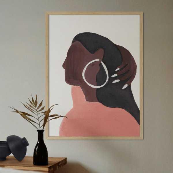 plakat art girl