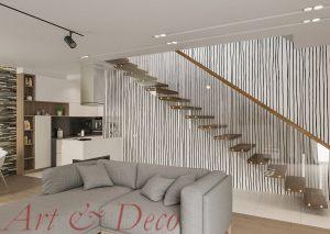 Tapeta na ścianę - MODERN LINES